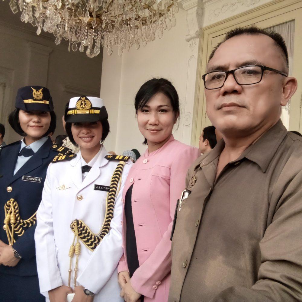 foto dg paspampres kepresidenan